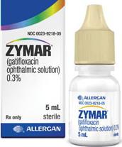Zymar eye drops